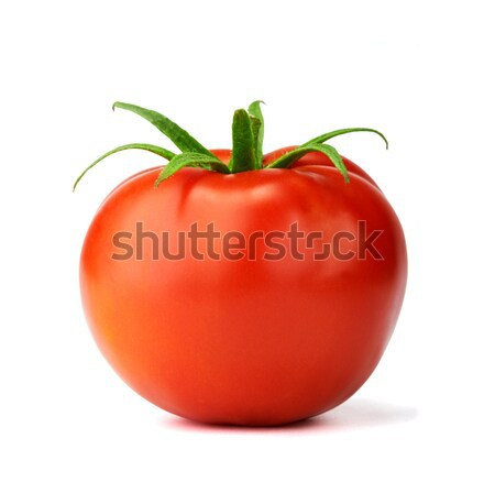 Juteuse isolé tomate blanche fichier Photo stock © shyshka