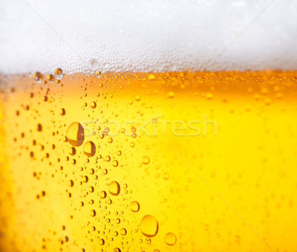 Hideg sör friss víz gyöngyök absztrakt Stock fotó © shyshka