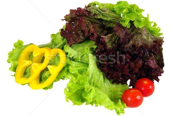 Zöldségek vásárolt vidéki piac konyha farm Stock fotó © sibrikov