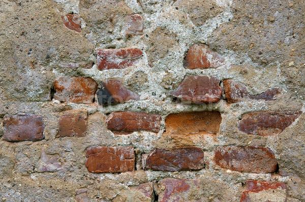 Textur Wand Licht Hintergrund Innenraum Architektur Stock foto © sibrikov