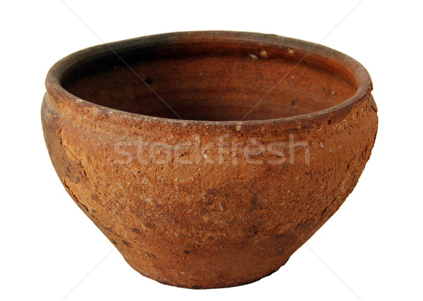 Clay pot  Stock photo © sibrikov