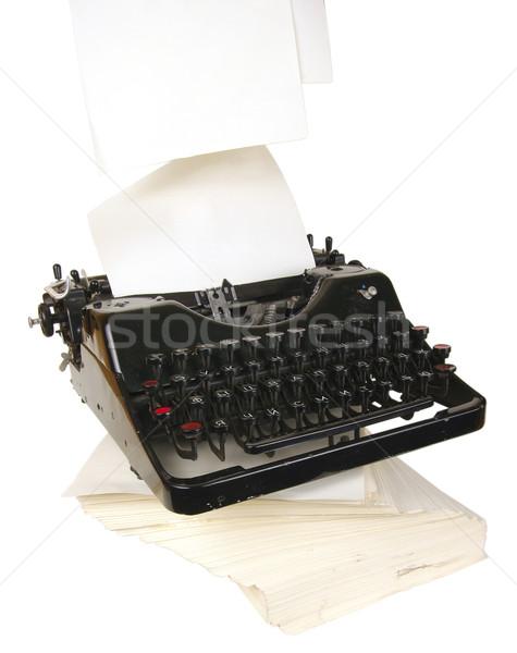 typewriter Stock photo © sibrikov