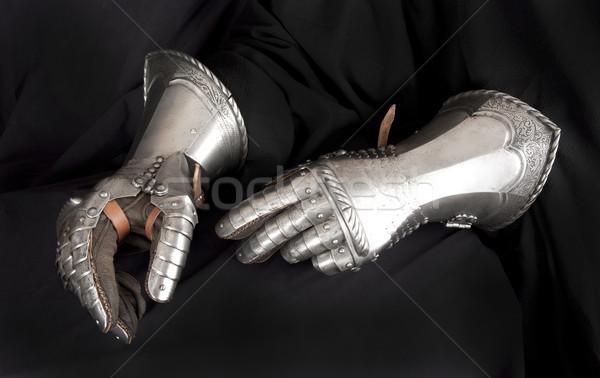 Металлические перчатки своими руками