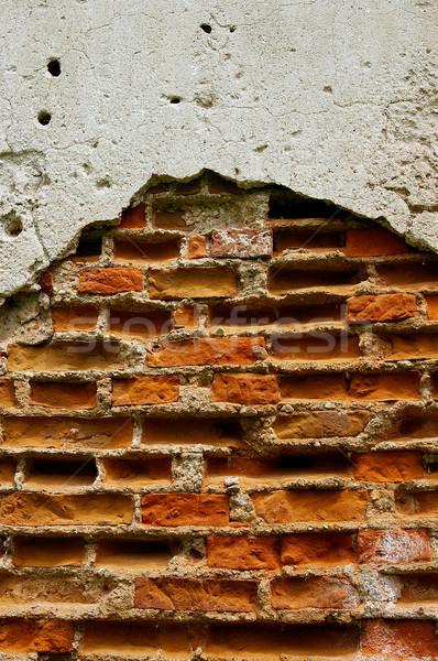 Doku duvar ışık arka plan iç mimari Stok fotoğraf © sibrikov