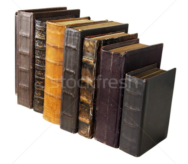 древних книга книгах кожа аннотация искусства Сток-фото © sibrikov