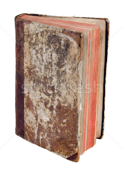 Antigua libro luz resumen arte negro Foto stock © sibrikov