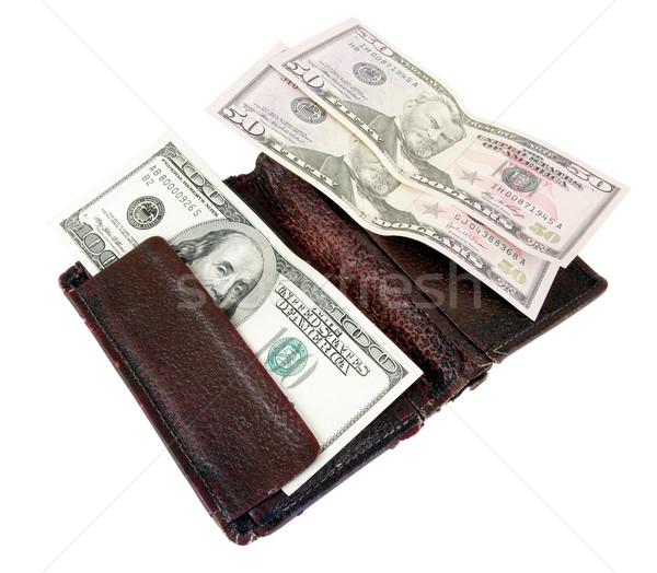 Dinheiro sempre necessário lata resolver muitos Foto stock © sibrikov