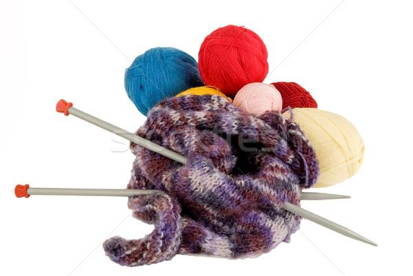 Yarn for knitting Stock photo © sibrikov