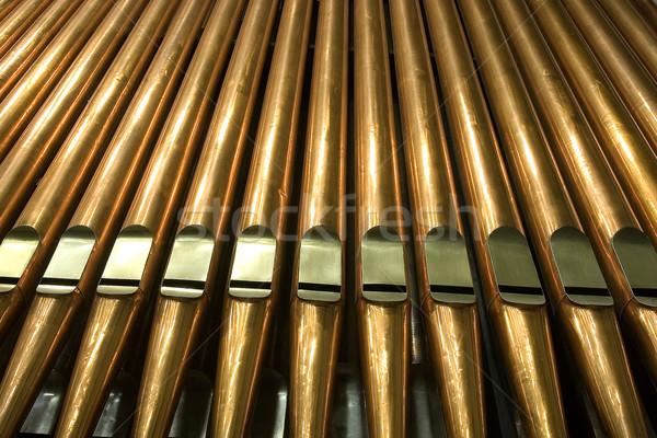 Organ geleneksel borular müzik araç boru Stok fotoğraf © sibrikov