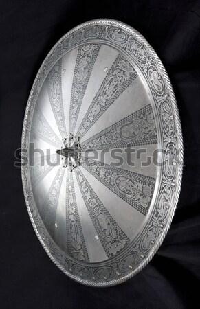 Bordo elemento defensa medieval soldado Foto stock © sibrikov