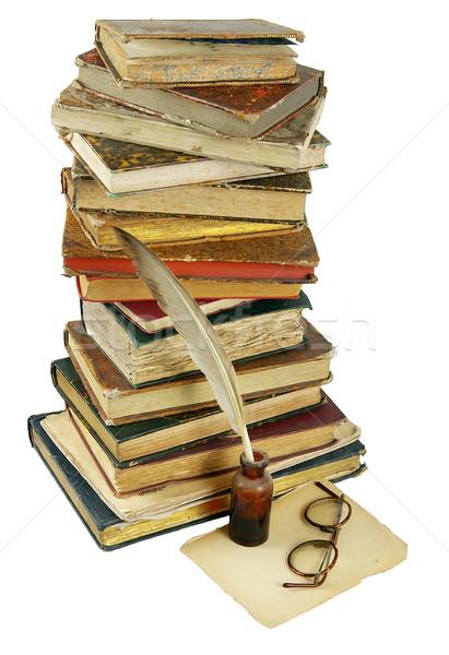 The ancient books Stock photo © sibrikov