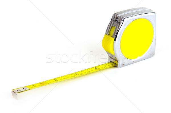 Fita métrica medição longo freqüentemente usado construção Foto stock © sibrikov