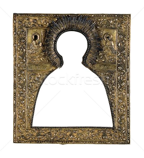 Stipendio metal sacro icona materiale bronzo Foto d'archivio © sibrikov