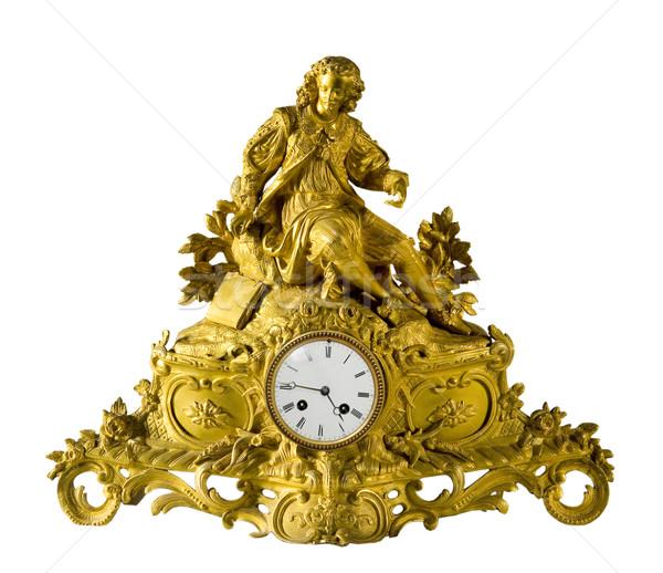 Antika saat güzel iç Stok fotoğraf © sibrikov