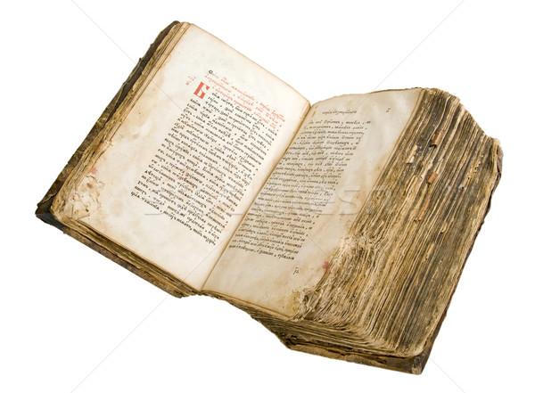 Foto stock: Antigua · libro · luz · resumen · arte · negro