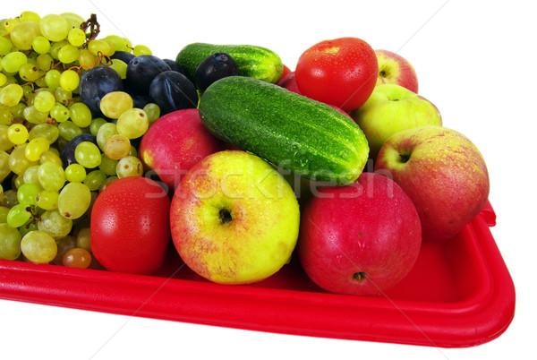 Vegetables Stock photo © sibrikov