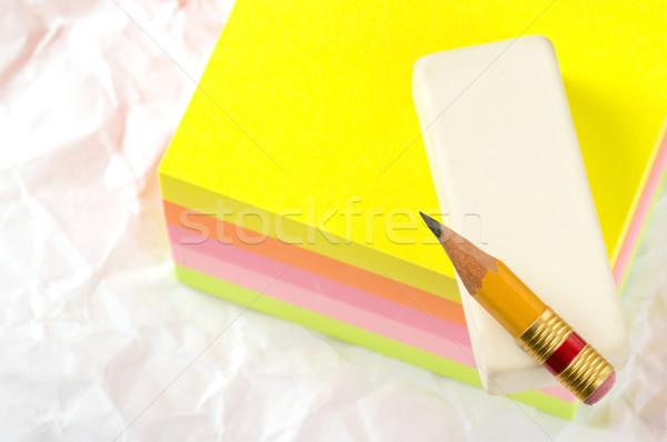 Escrita necessário ortografia notas popular pessoas Foto stock © sibrikov