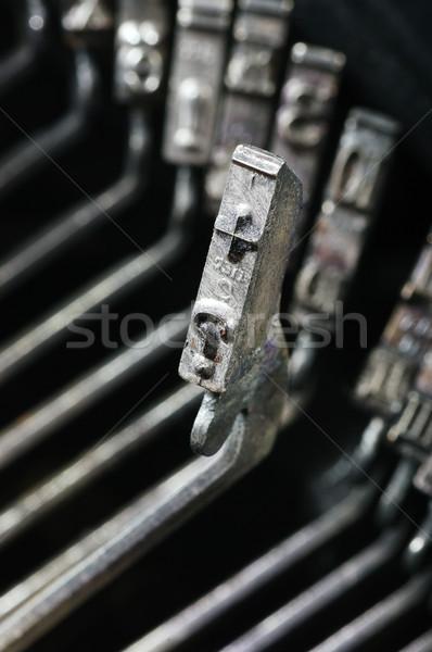 typewrite Stock photo © sibrikov