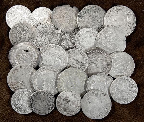 silver coins Stock photo © sibrikov