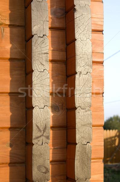 Buena material construcción casa textura Foto stock © sibrikov