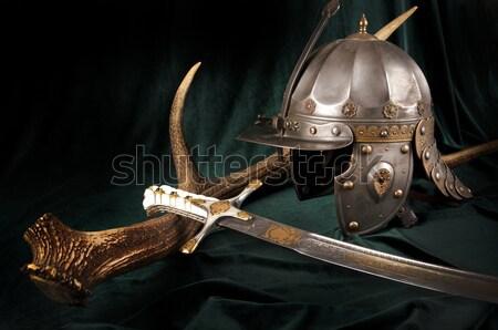 древних Smart оружием меч стали Сток-фото © sibrikov