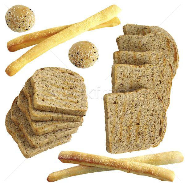 Ekmek gıda çok insanlar can Stok fotoğraf © sibrikov