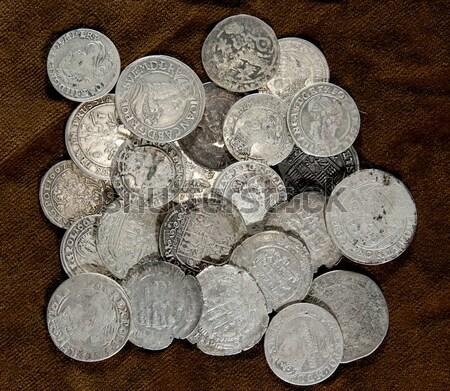 silver coin Stock photo © sibrikov