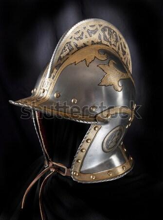 Armatura medievale cavaliere metal protezione soldato Foto d'archivio © sibrikov