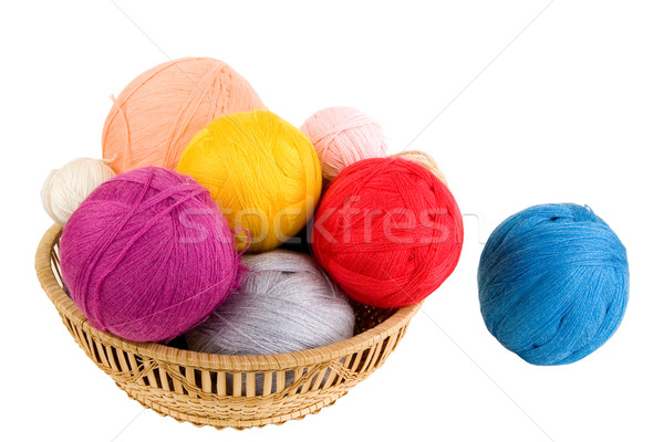 Yarn for knitting Stock photo © sibrikov