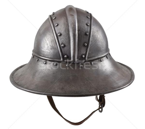 Iron helmet  Stock photo © sibrikov