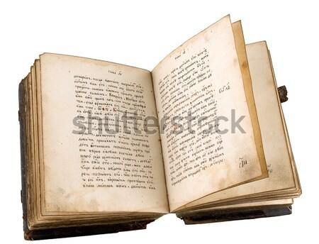 The ancient book Stock photo © sibrikov