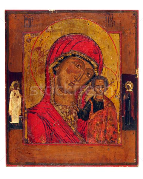 Ikon eski kilise bir çocuk boya Stok fotoğraf © sibrikov