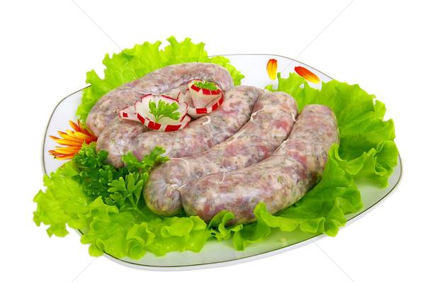 食品 美しい 食欲をそそる 朝食 サラダ ダイエット ストックフォト © sibrikov