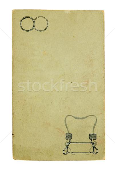 Cardboard for a photo  Stock photo © sibrikov
