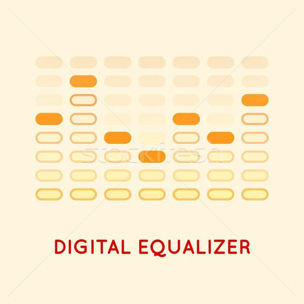 Equalizer Stock photo © sidmay