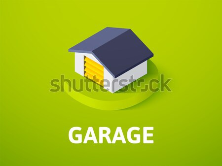 Garage icon in different style Stock photo © sidmay