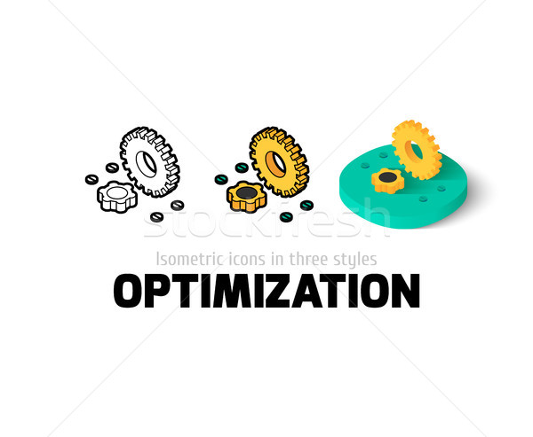 Optimization icon in different style Stock photo © sidmay
