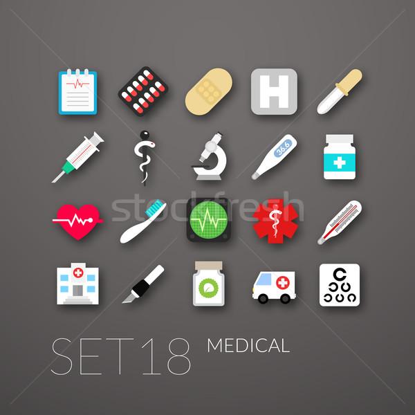 Stok fotoğraf: 18 · tıbbi · toplama · kalp · arka · plan