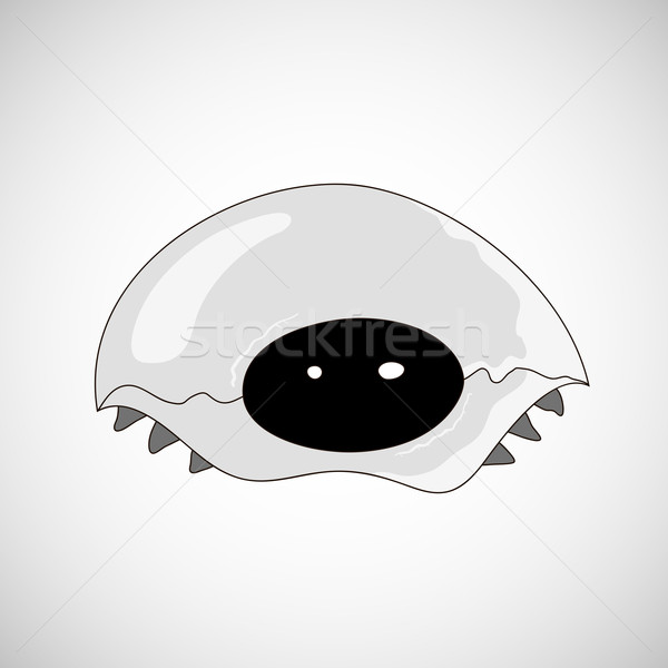 Stock photo: Silver metallic isolated turtle on white