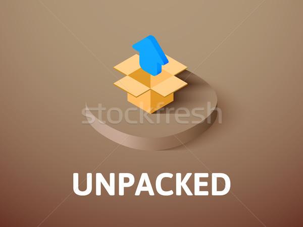Icono aislado color vector símbolo Foto stock © sidmay