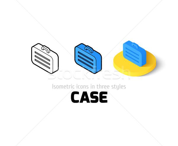Tok ikon különböző stílus vektor szimbólum Stock fotó © sidmay