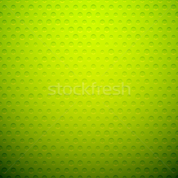 Green metal or plastic texture with holes Stock photo © sidmay