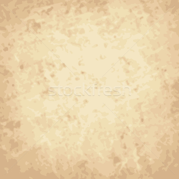 Stock photo: Vector vintage background, crumpled, scratch paper