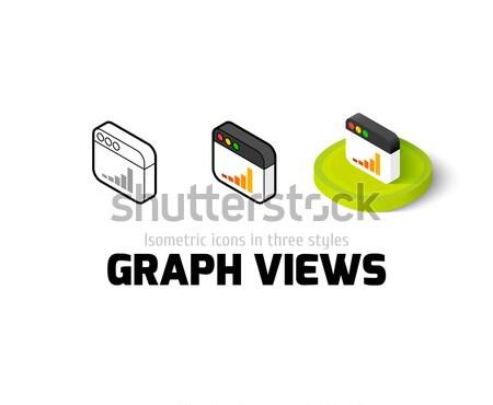 Icône de téléchargement différent style vecteur symbole Photo stock © sidmay