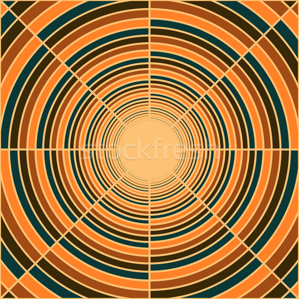 Abstract deep tube, light at end of tunnel Stock photo © sidmay