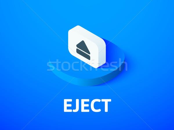 Izometrikus ikon izolált szín vektor szimbólum Stock fotó © sidmay