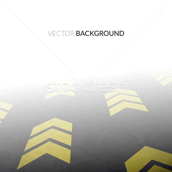 Weg perspectief abstract vector textuur wereld Stockfoto © sidmay