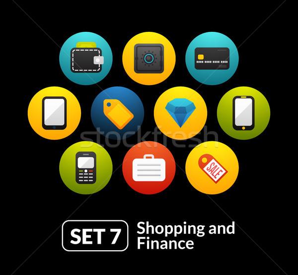 ショッピング 金融 コレクション 電話 時計 ストックフォト © sidmay