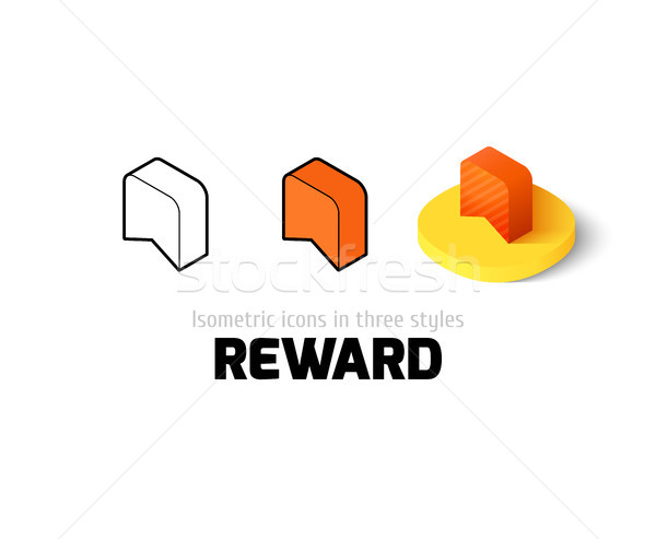 Reward icon in different style Stock photo © sidmay