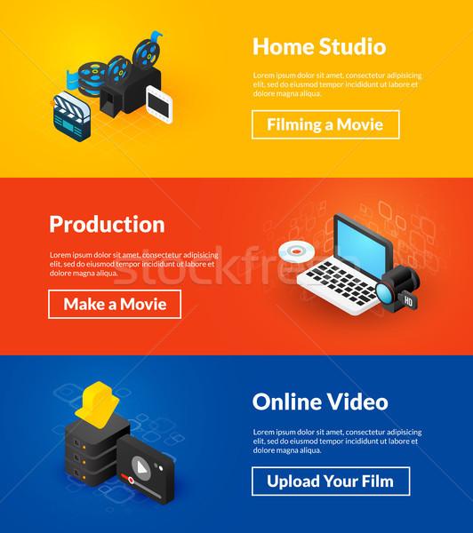 Foto d'archivio: Home · studio · produzione · online · video